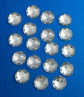 Selbstklebende acryl diamanten 1 2cm selbstklebend klar - Spiegel verzieren ...